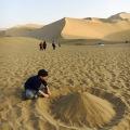 Desert – building dunes in the desert(2)
